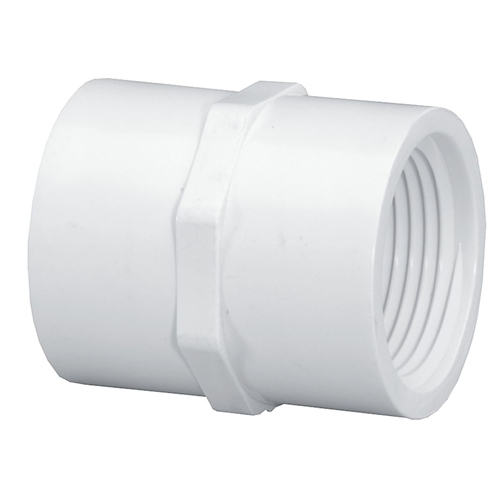 1 1/2 in. PVC Coupling [FPT x FPT]