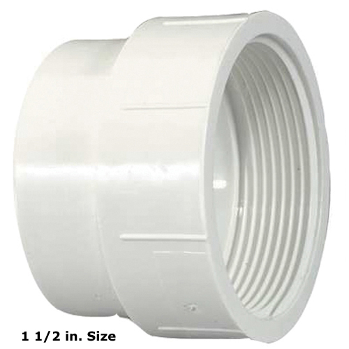 1 1/2 in. PVC Coupling [Insert X FPT]