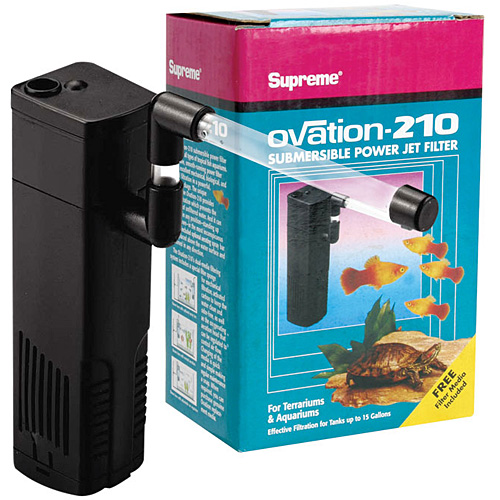 Ovation 210 Submersible Power Jet Filter