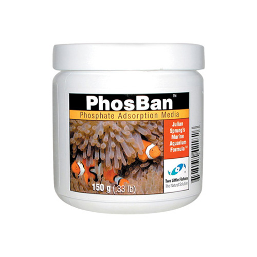 PhosBan [150g] - Treats up to 1200 liters of freshwater or 600 liters of saltwater.