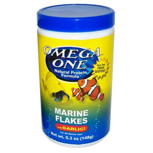 Omega One Marine Flake with Garlic [148 g]