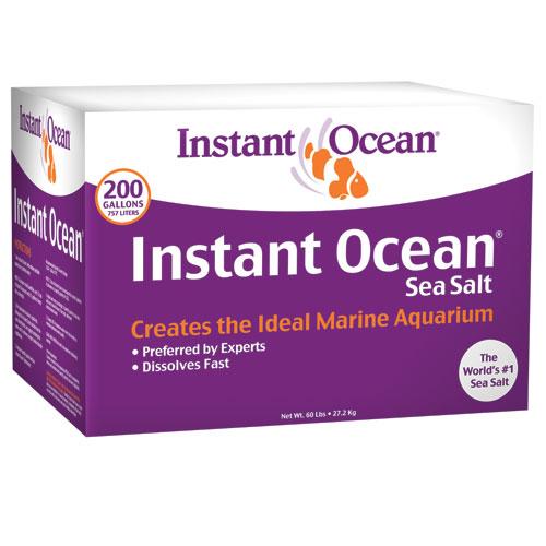 Instant Ocean Box Sea Salt [200 gal mix]