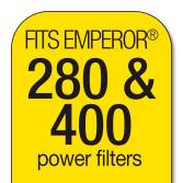 MarineLand Rite Size E - Emperor 280/400 Filter Cartridges [4 pk] 3