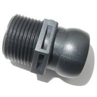 "3/4"" MPT Connector for Flexible Ball-Socket Joint Tubing"