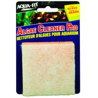 Aqua-Fit Hand Held Algae Cleaner Pad for Glass Tanks [3 in. X 3 in.]