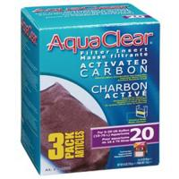 Aquaclear 20 Carbon Inserts [3 pk] - 1 ONLY!