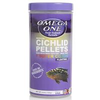 Omega One Floating Cichlid Pellets - 6mm Medium size [6.5 oz.]