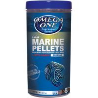 Omega One Sinking Marine Pellets w/garlic - 4mm Large Size [255 g]