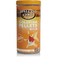 Omega One Goldfish Pellets - 6mm Large size  [212 g]