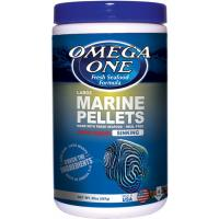 Omega One Sinking Marine Pellets w/garlic - 4mm Large Size [567 g]
