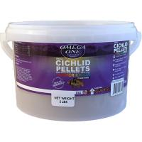 Omega One Floating Cichlid Pellets - 3mm Small size [2 lbs.]