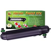 Pond Turbo Twist 12x: 36 watts, treats up to 8,800 gallons of pond water