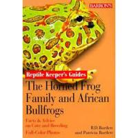 Horned Frog and African Bullfrogs