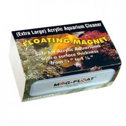 Mag Float 510 X-Large Size Floating Algae Magnet for Acrylic up to 1 1/4 in. 2
