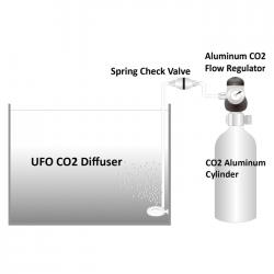 ISTA Aluminum CO2 Flow Regulator 3