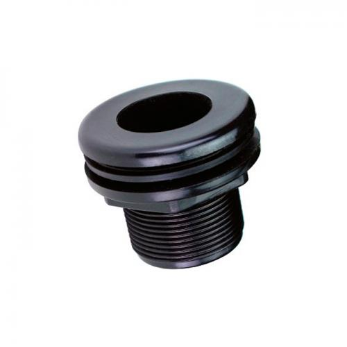 Lifegard 1/2 in. Bulkhead Slip (on flange side)  x Thread