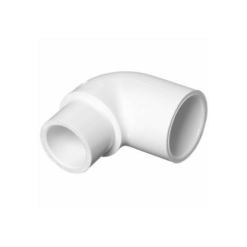 2 in. 90° PVC Elbow [Slip x Insert]
