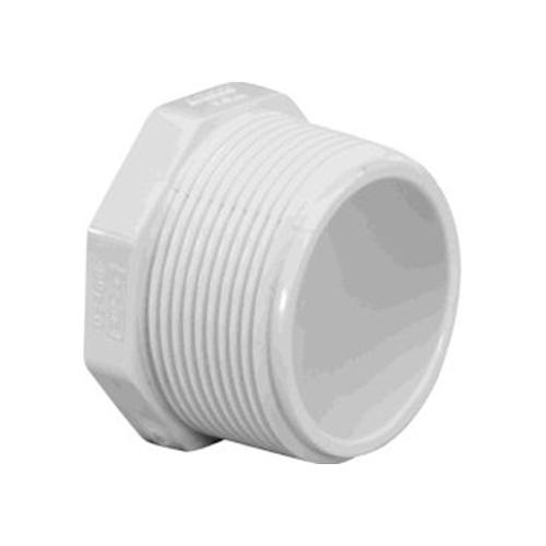 1 1/2 in. Threaded PVC plug - Male
