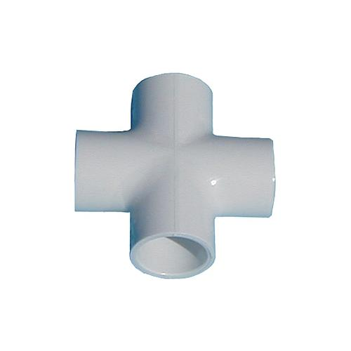 3/4 in. PVC Cross [All Slip]