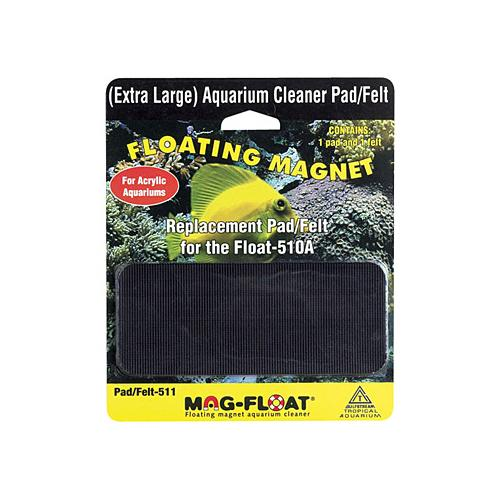 Replacement Cleaning Pad and Felt for Mag Float 510 - Acrylic