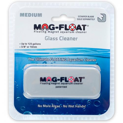 Mag-Float 125 Medium Size Floating Algae Magnet for Glass 1