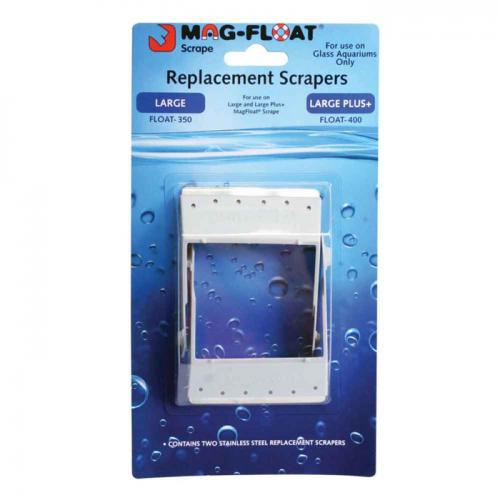 Mag-Float Replacement Scrapers for Mag Float 350 and Mag Float 400 [2 pk] 1