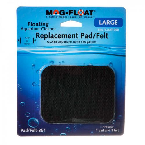 Mag-Float Replacement Cleaning Pad and Felt for Mag Float 350 1