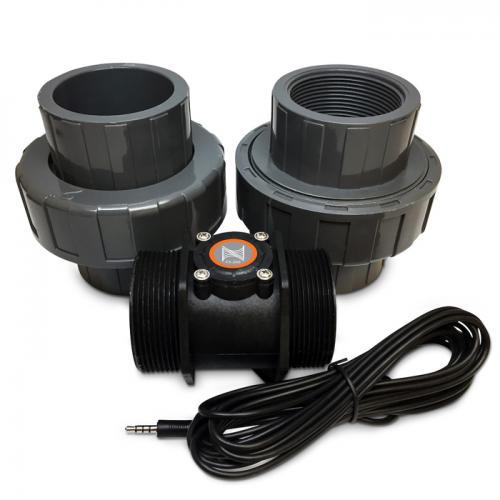 Neptune Flow Sensor - 2 in. with Unions