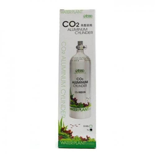 ISTA Aluminum CO2 Cylinder (Face Up) [1 Liter] 1