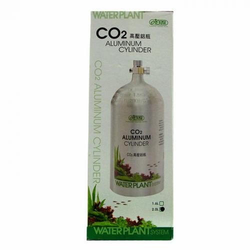 ISTA Aluminum CO2 Cylinder (Face Up) [2 Liter] 2