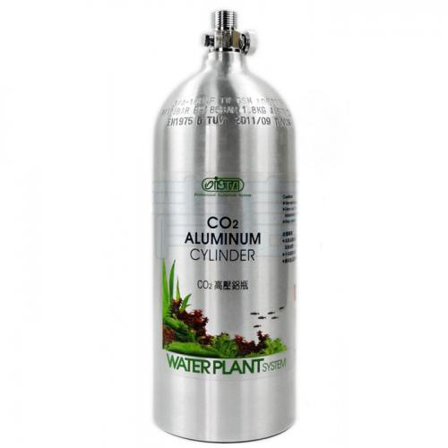 ISTA Aluminum CO2 Cylinder (Face Up) [2 Liter] 1