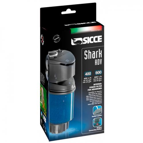 Sicce Shark ADV. 600 Internal Filter [158 gph] 1