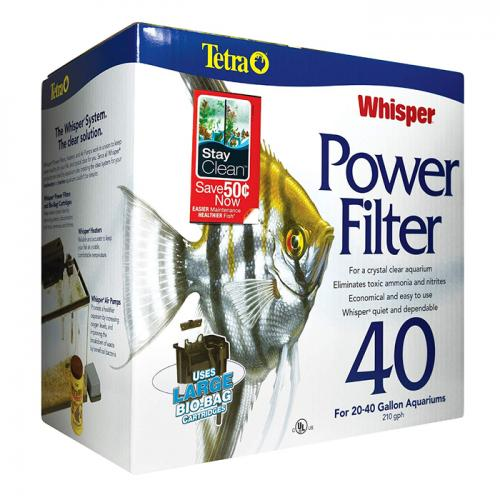 Tetra Whisper 40 Power Filter 1