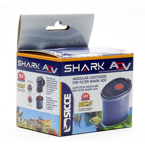 Sicce Shark Add on Filter Cartridge w/White Sponges 20ppi 1