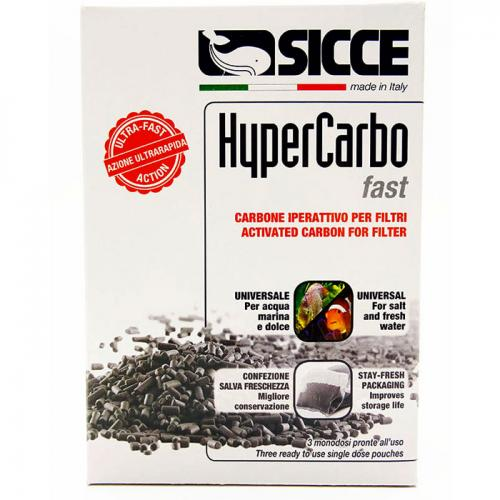 Sicce HyperCarbo Pelleted Carbon [3 x 100g pk] 1