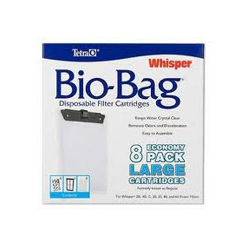 Whisper Bio-Bag II [8 pk] Large - Formerly known as Regular
