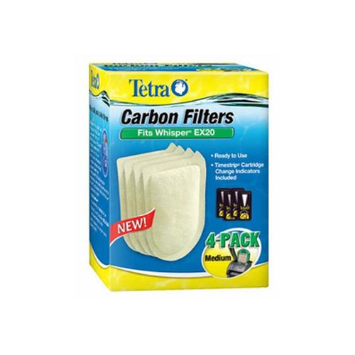 Whisper EX Carbon Filter Cartridge Med./4 Pk.