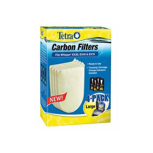 Whisper® EX Carbon Filter Replacement Cartridges - Large [4 pk]