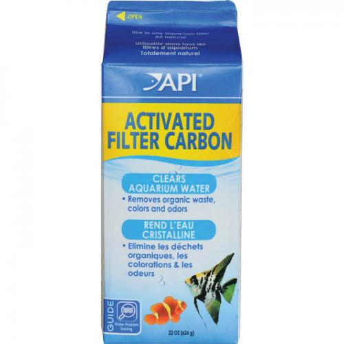 API Activated Carbon [624 g] Half Gallon Size Box