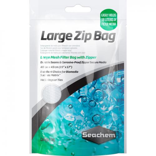 Seachem LARGE Zip Bag [19 in. x 17 in.]