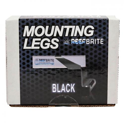 Reef Brite XHO and Tech LED Mounting Legs [Black] 1