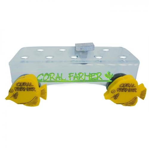 Coral Farmer 9 Hole Frag Rack - For Glass or Acrylic up to 3/4 in.