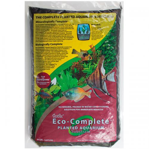 CaribSea Eco-Complete Planted Aquarium Substrate - RED [40 lbs] 1