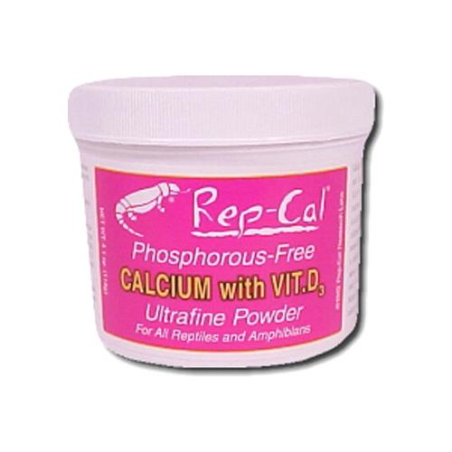 Rep-Cal Ultrafine Calcium W/D-3 [4.1 oz]
