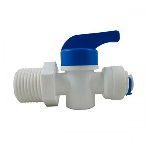 RO Hand Valve [1/4 in. tube x 1/4 in. MPT]