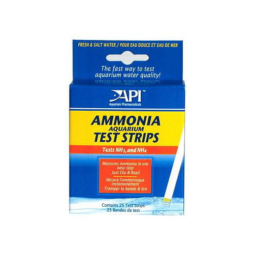 Ammonia Test Strips [ 25 tests ]