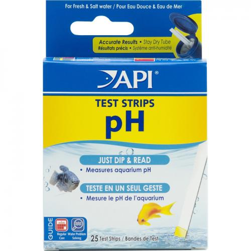 API pH Aquarium Test Strips [25 tests] 1