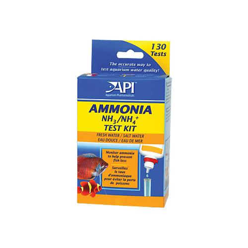 Ammonia Test Kit [130 tests for Fresh or Saltwater Use]