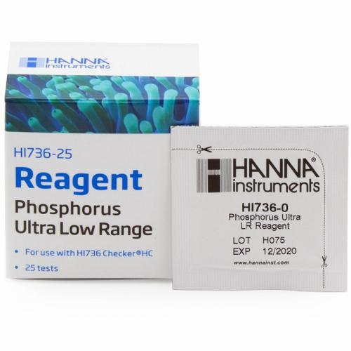 Hanna Phosphorus Ultra Low Range Checker® HC Reagents [25 Tests]