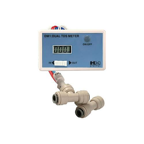Dual In-Line TDS Meter w/T-Fittings